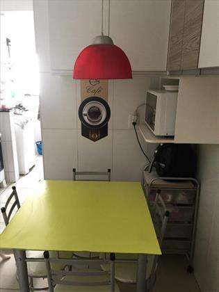mesa da cozinha.