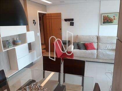 Sala para dois ambientes definidos