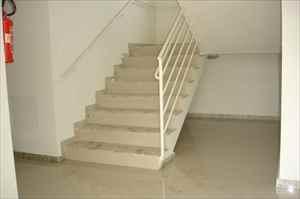 Escada do edifício.