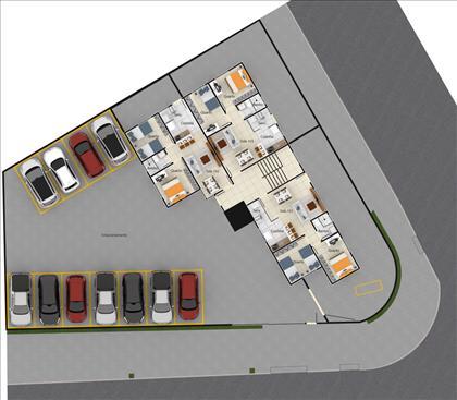 Planta estacionamento