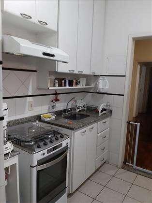 cozinha com armário embutido