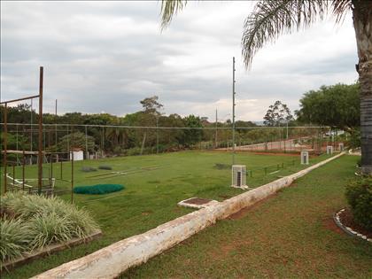 Campo de futebol do clube (em reforma)