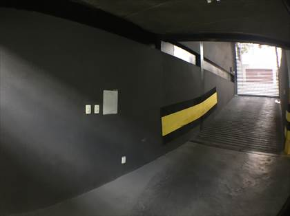 Entrada garagem
