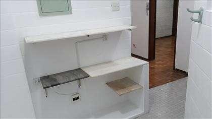 Cozinha com armário