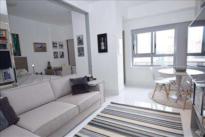 Sala de estar para dois ambientes
