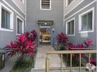 entrada interna o apartamento