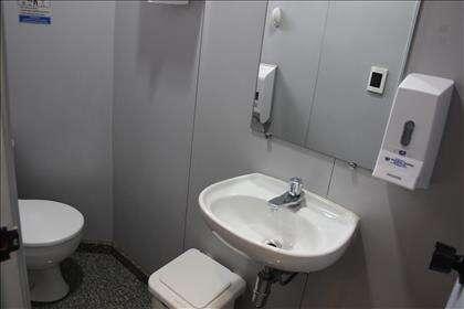Banheiro 1 do primeiro vão livre