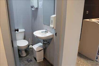 Banheiro 1 da primeira recepção.