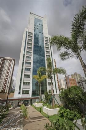 fachada do  prédio vista do lazer