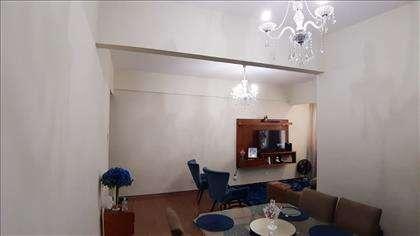 Sala em L para dois ambientes