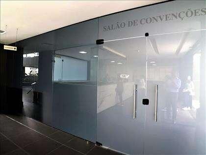 Entrada sala de convenções