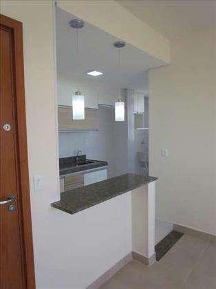 Sala para 2 ambientes - cozinha americana
