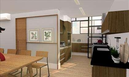 Imagem Ilustrativa - Sala e Cozinha