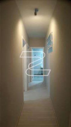 Corredor de acesso aos dormitórios