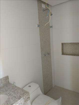 Banheiro de uma das suítes