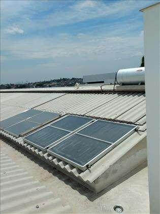 Aquecimento Solar  para cada apartamento