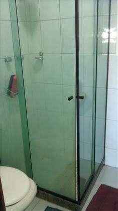 Banheiro Social com Blindex