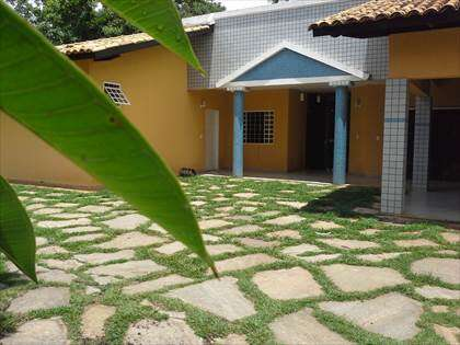 Entrada principal da segunda casa