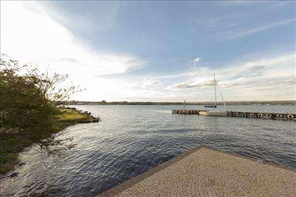 Orla do lago Paranoá