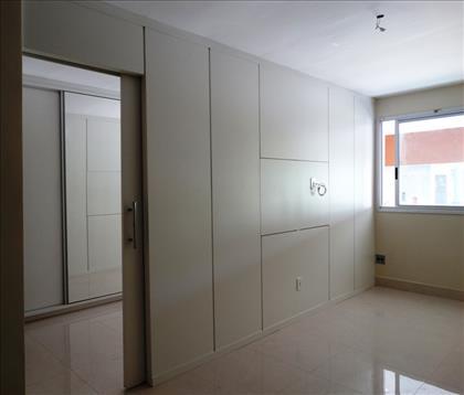 Sala social piso em porcelanato
