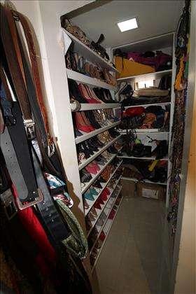 Closet com porta sapatos