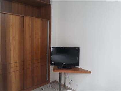 TV de LCD no quarto