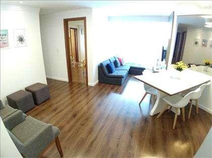 Três ambientes na sala
