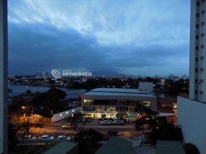 Linda vista para o canal de Camburi