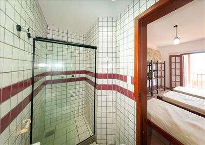WC e quarto da Suíte Robalo