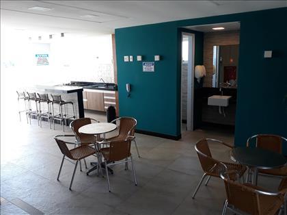 Salão gourmet/festa na cobertura