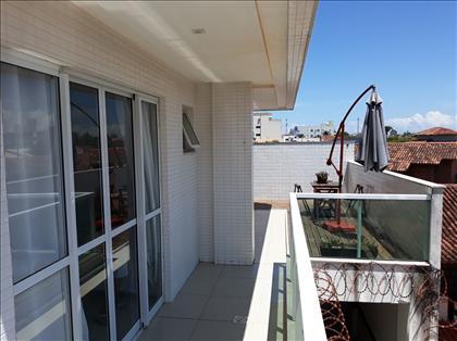 Vista da varanda do quarto suite
