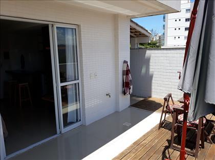 Vista da varanda e a extensão da varanda