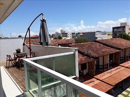 Vista da varanda quarto suite