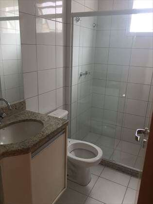 Um dos banheiros Suíte