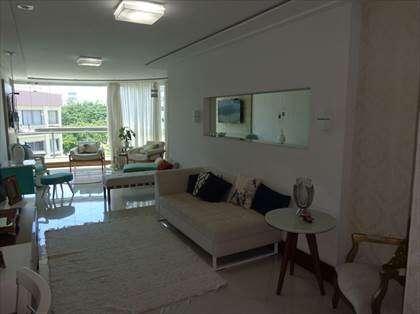 Sala super ampla com varanda anexa