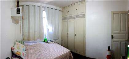 Quarto 1 amplo e com armários