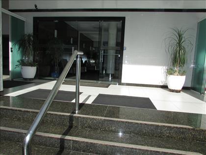 Área de acesso ao hall