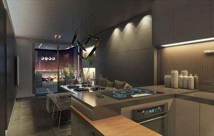 Sala-cozinha - imagem ilustrativa