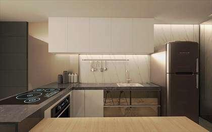 Cozinha- opção de revestimento - ilustrativo