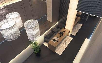 Hall entrada superior-  imagem ilustrativa