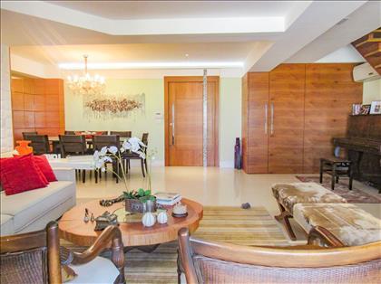 Sala ampla para 3 ambientes