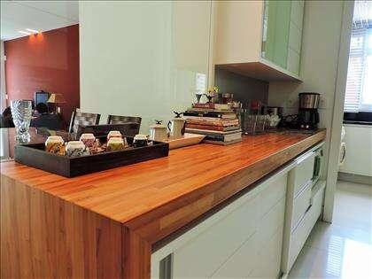 Bancada da cozinha