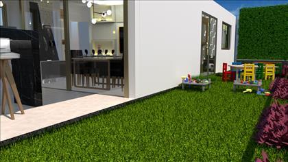 Área externa - Projeto