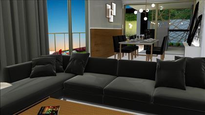 Sala de estar - Projeto