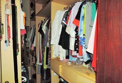 Suíte principal - detalhe closet