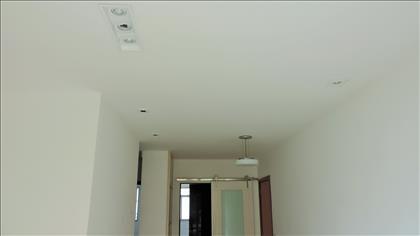 Sala com iluminação diferenciada