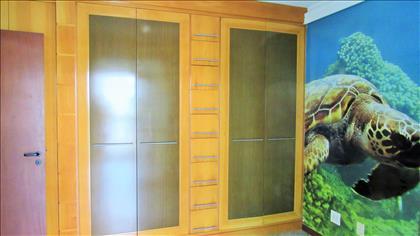 Terceiro quarto com varanda privativa