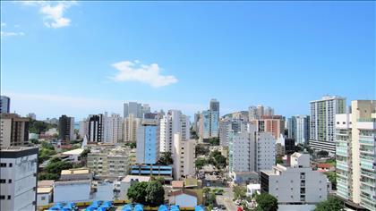 3 quartos, suíte, 2 vg, SLúcia/Praia do Canto