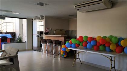 Salão de festas climatizado