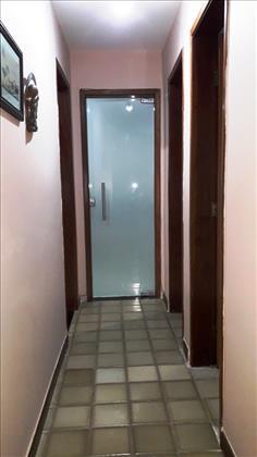 circulação quartos e banheiros